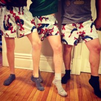 Superhero Shorts for Super Brothers.