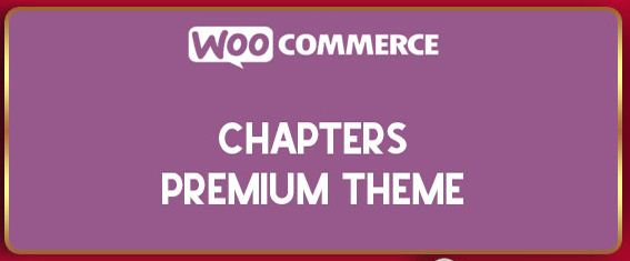 Chapters Premium Theme for WooCommerce