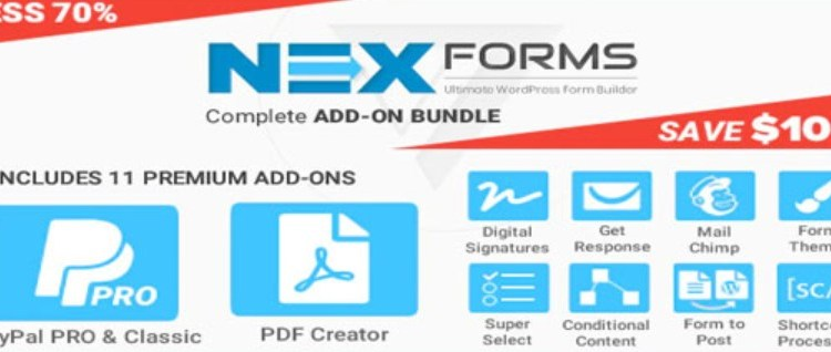 Add on Bundle for NEX Forms WP plugin