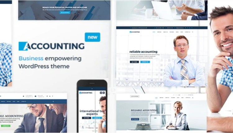 Accounting Business and Finance theme