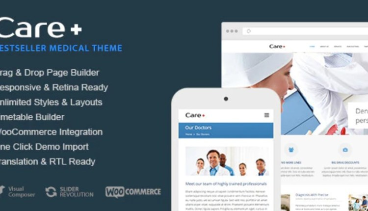Care Medical and Health Blogging Theme