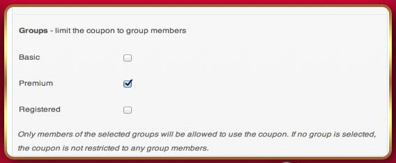 Group Coupons for WooCommerce