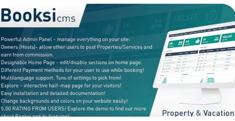Booksi Real Estate And Catalog Management PHP Script