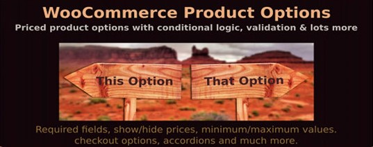 priced product options with condition plugin