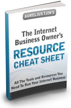 The Internet Business Owner's Resource Cheat Sheet
