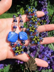 Patience In Bloom bracelets in Purple