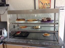 Unsere leckere Kuchenauswahl :)