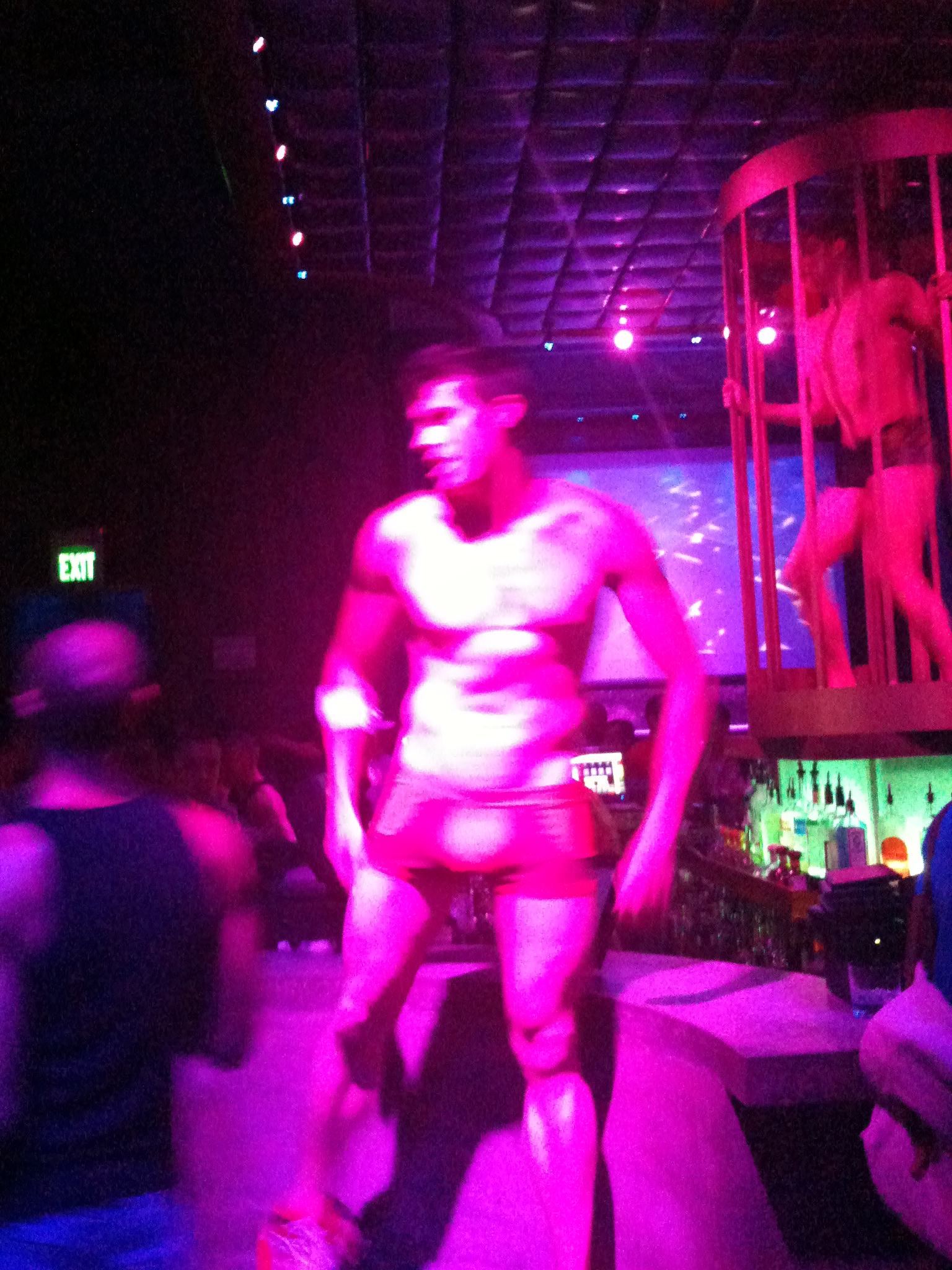 Male Go Go Dancer at Trigger