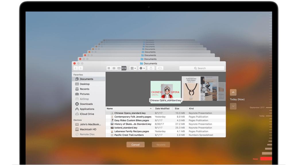 Mac timemachine backup
