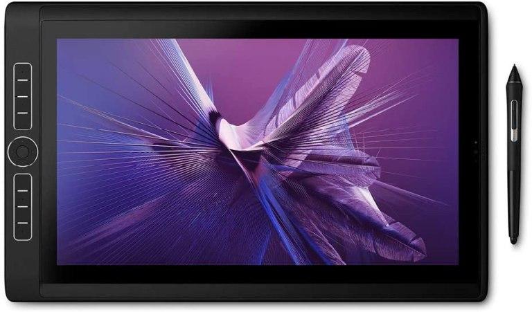 Elegir una Tableta gráfica para diseño gráfico. Wacom MobileStudio Pro 16 pulgadas - Ordenador interactivo de nueva generación con Wacom Pro Pen 2 (Intel Core i7-8559U, Thunderbolt y resolución de 4K), Color Negro