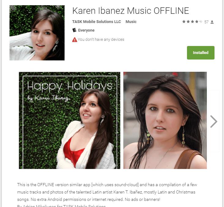 Karen Ibanez Music OFFLINE