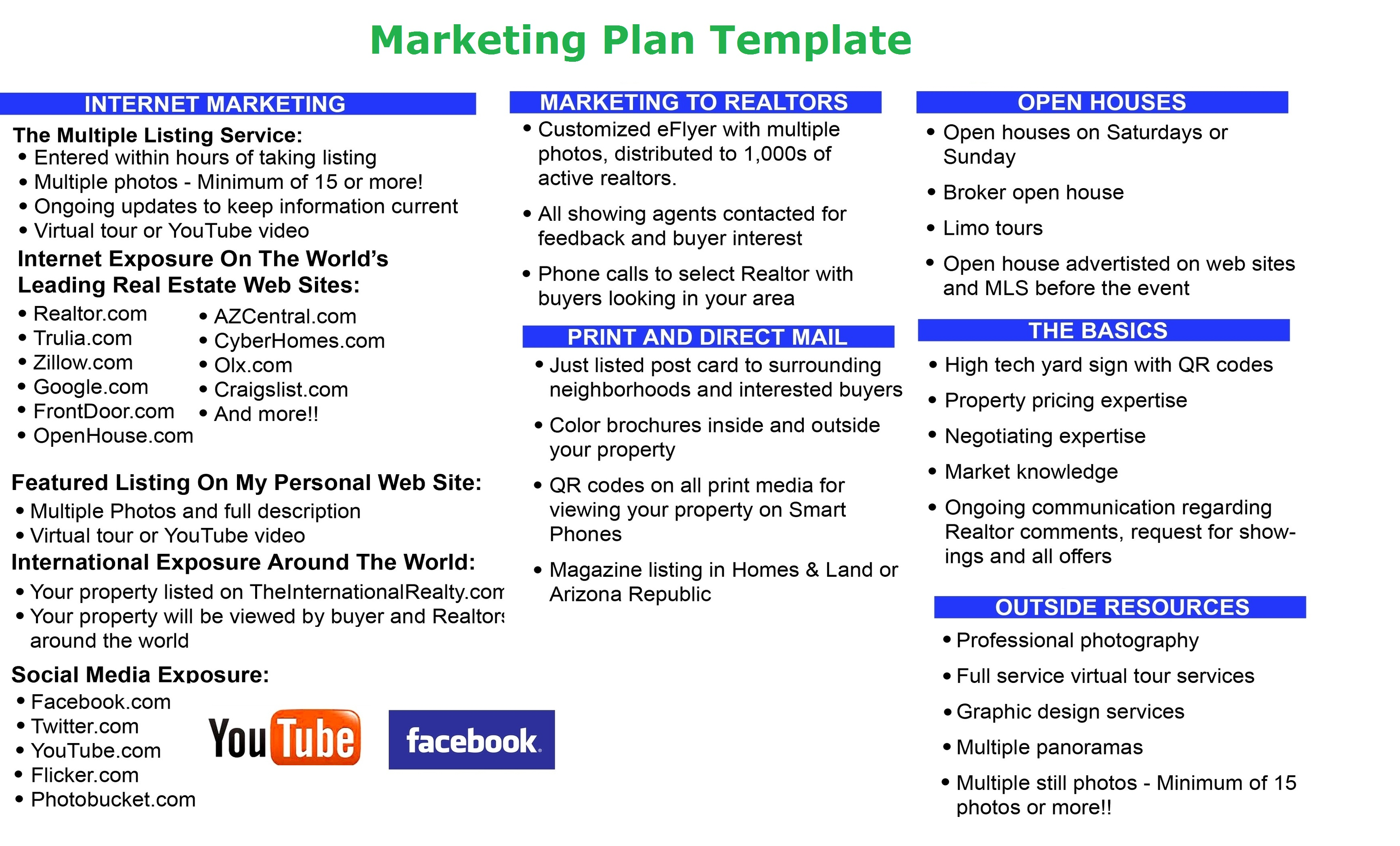 Recruitment developing marketing plan template; Functional Strategy