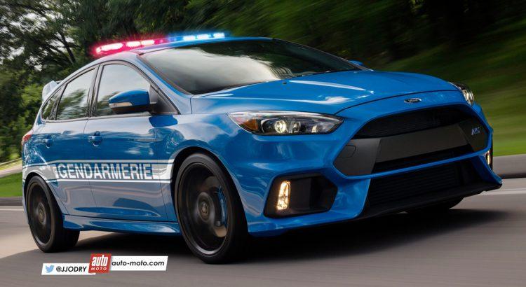 Ford a breveté une voiture de police autonome qui peut vous poursuivre et vous coller un PV
