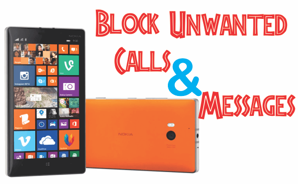 Blocking Calls and Messages on Windows Phone