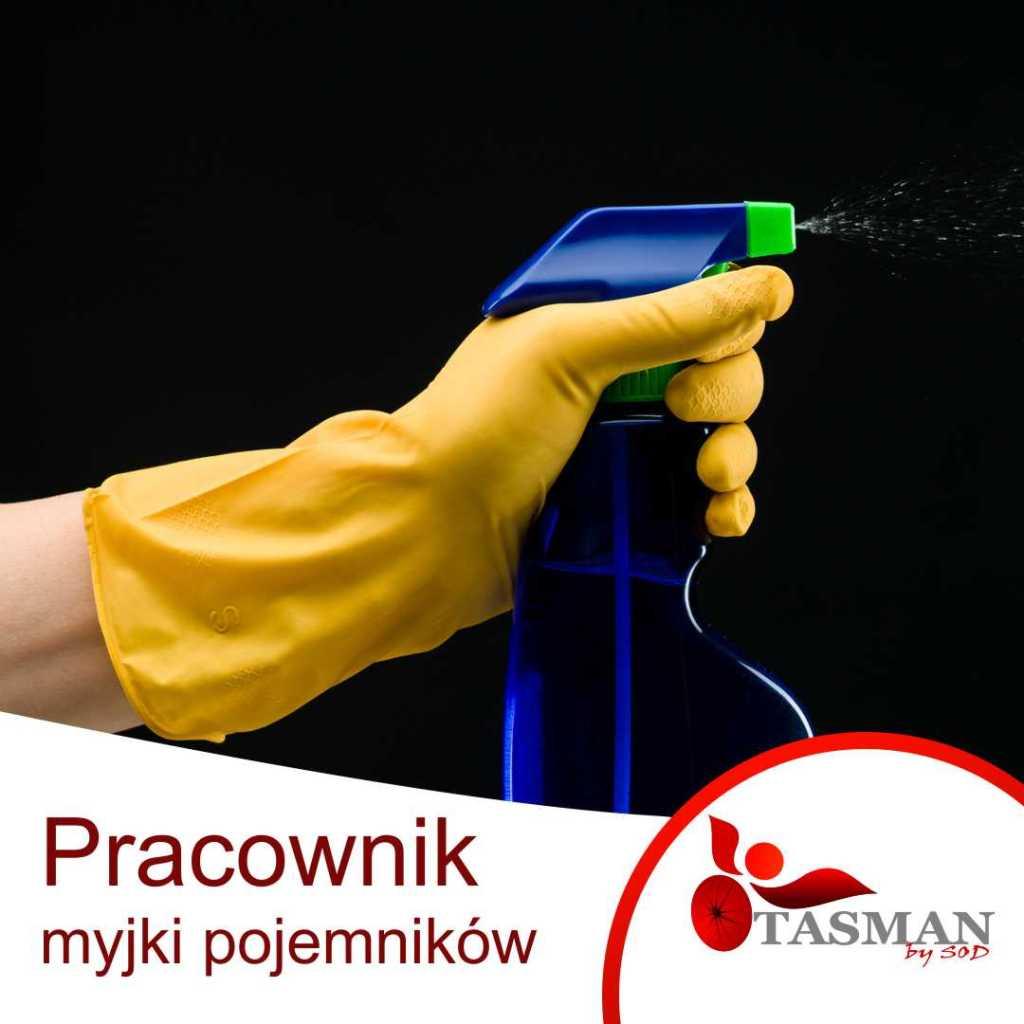 pracownik myjki pojemników oferta pracy