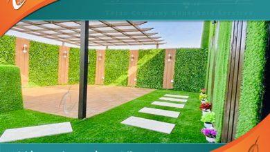 شركة تنسيق حدائق ينبع وتركيب العشب الصناعي وعمل نوافير في ينبع وتصميم شلالات وديكور احواش