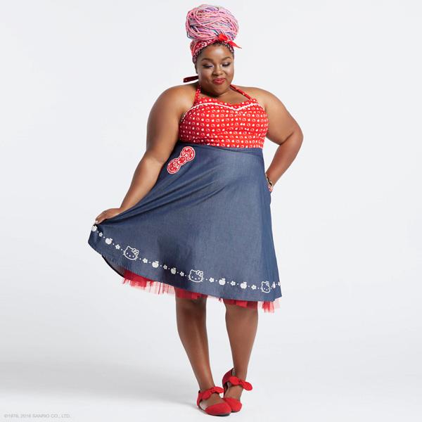 Amina Mucciolo Hello Kitty Dress