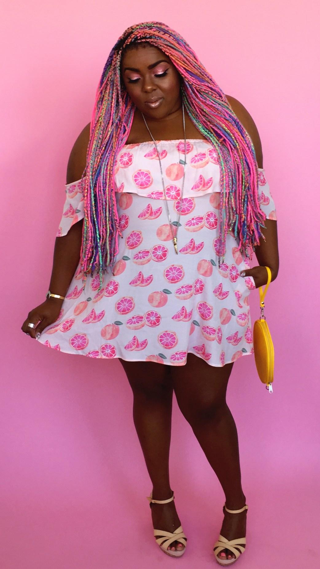 Amina Wildfox Citrus Dress