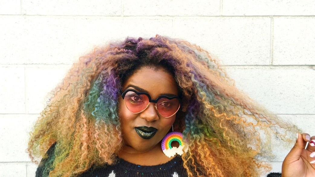 Amina Black lipstick rainbow optx rose heart shades