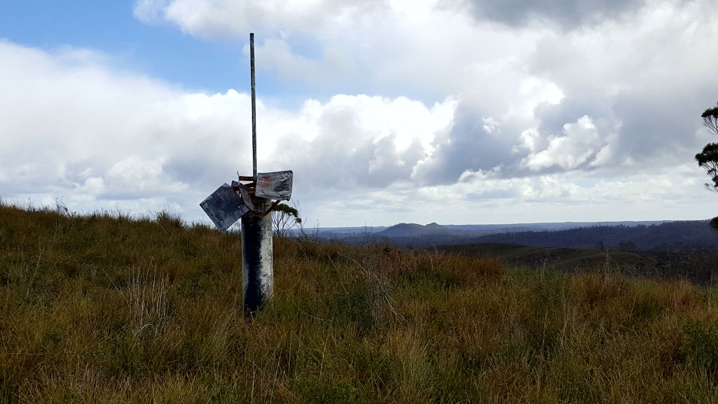 survey point - Luncheon Hill To Teapot Hill