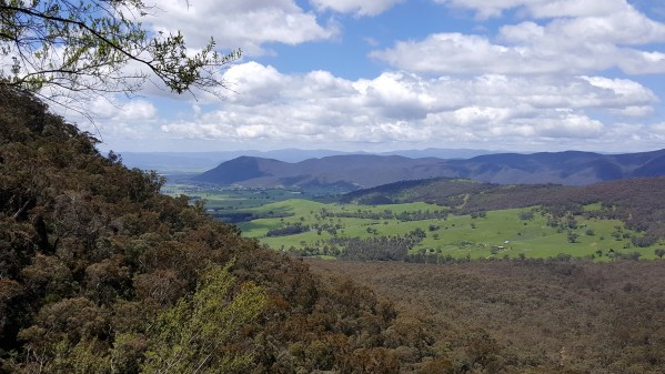 lookout above falls - Mainland Holiday Part 1 (Ournie Reserve)