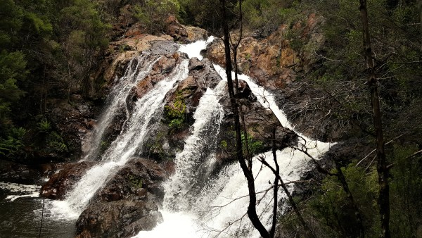 hidden falls - The Waterfall Run