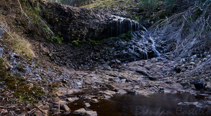 Lyell Highway Waterfall 1