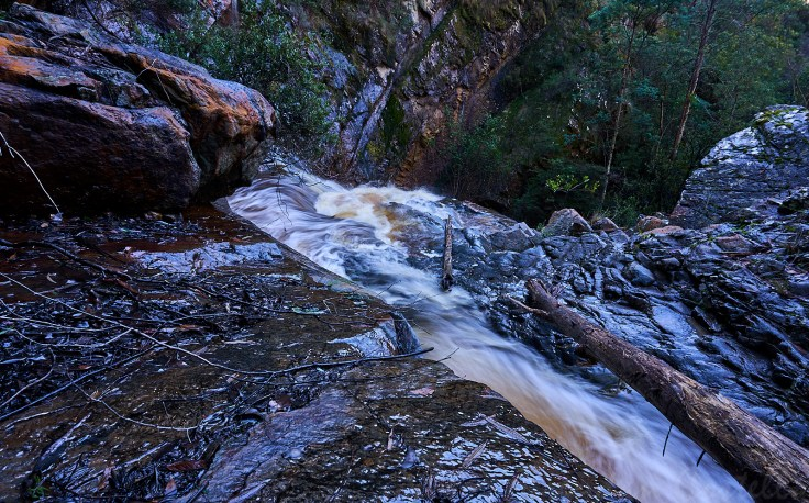Machinery creek Falls 1