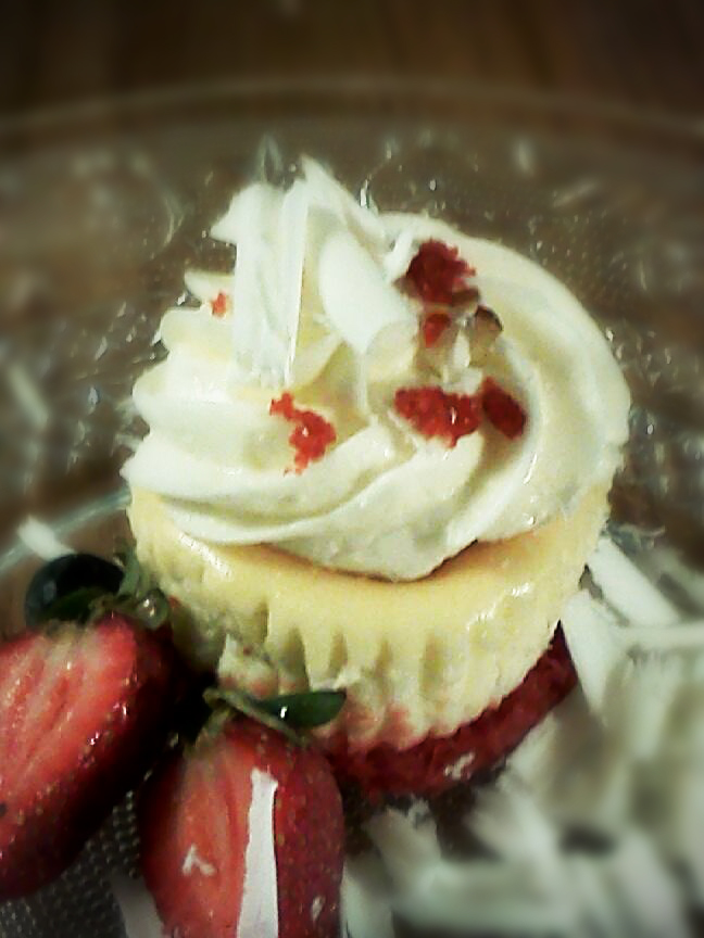 Strawberry Cupcake at Taste and C