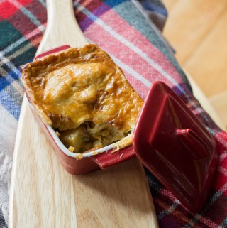 Curried Beef Pot Pie | Taste & Tipple