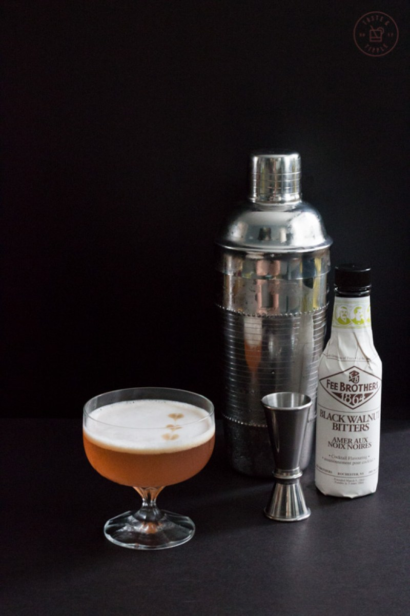 Fig Walnut Sour | Taste & Tipple