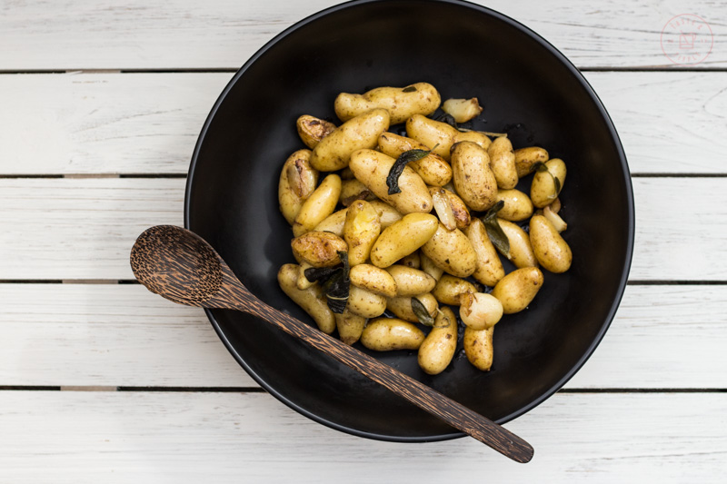 Stovetop Fingerling Potato Confit | Taste & Tipple