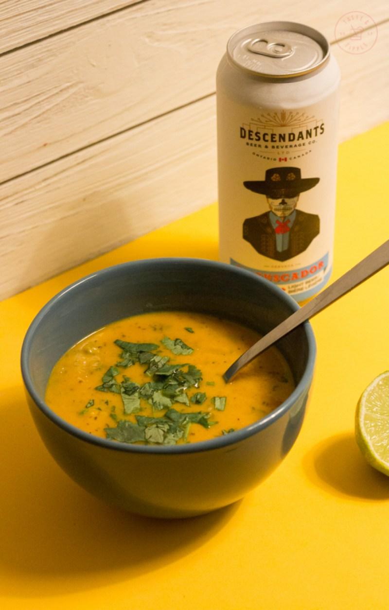 Thai Sweet Potato Shrimp Soup   Taste and Tipple