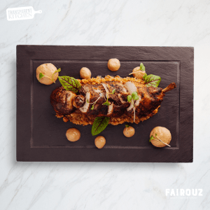 Sumac Glazed Half Chicken | Fairouz