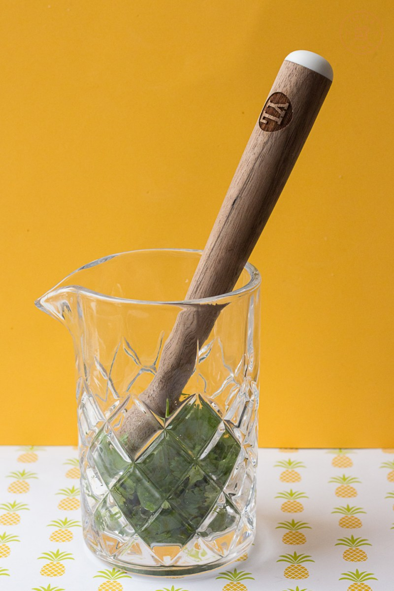 Cilantro Mojito | Taste and Tipple