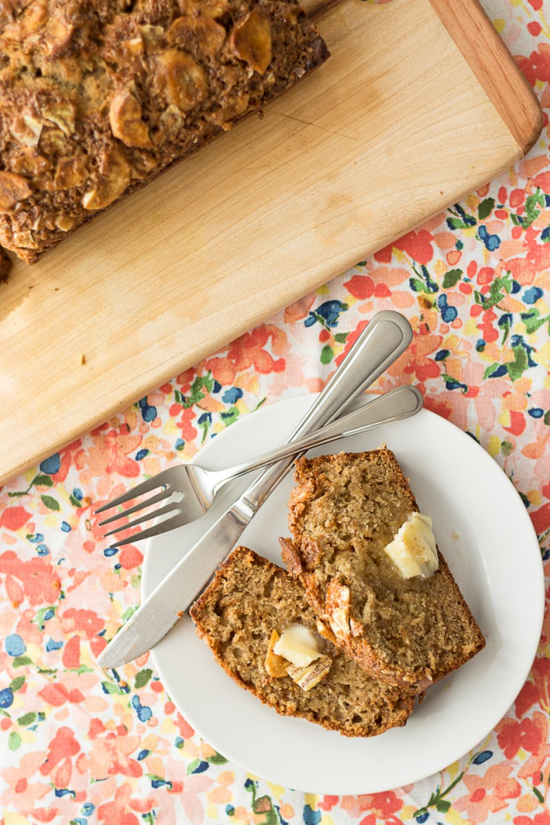Coffee Toffee Banana Bread | Taste and Tipple