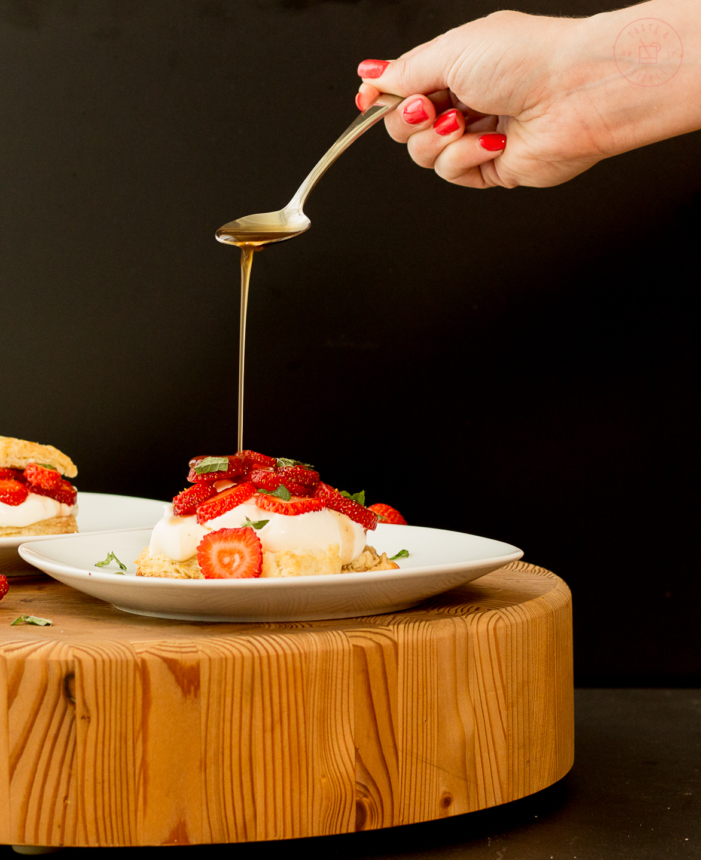 Black Pepper Strawberry Shortcake | Taste and TippleBlack Pepper Strawberry Shortcake | Taste and Tipple