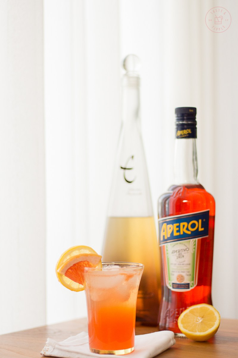 Italian Piñata Cocktail | Taste and Tipple