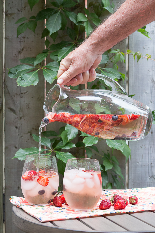 Elderflower Rosé Sangria   Taste and Tipple