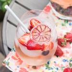 Elderflower Rosé Sangria | Taste and Tipple