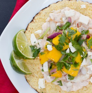 Fish Tacos with Mango Salsa | Taste and Tipple