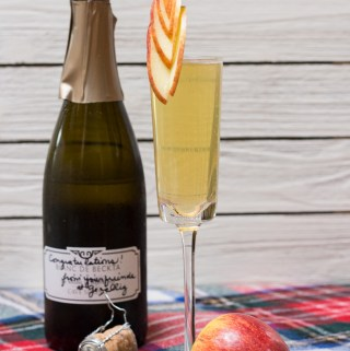 Apple Sparkler | Taste and Tipple