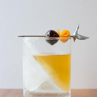 On Tilt Old Fashioned   Taste and Tipple