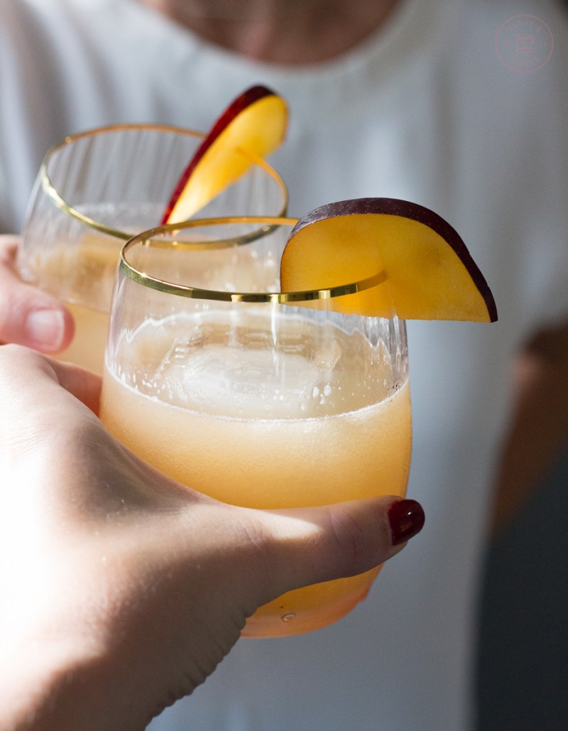 Plum and Fennel Gin Gimlet | Taste and TIpple