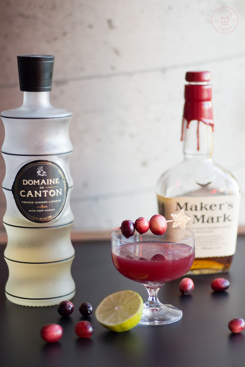 Cranberry Constellation | Taste and Tipple