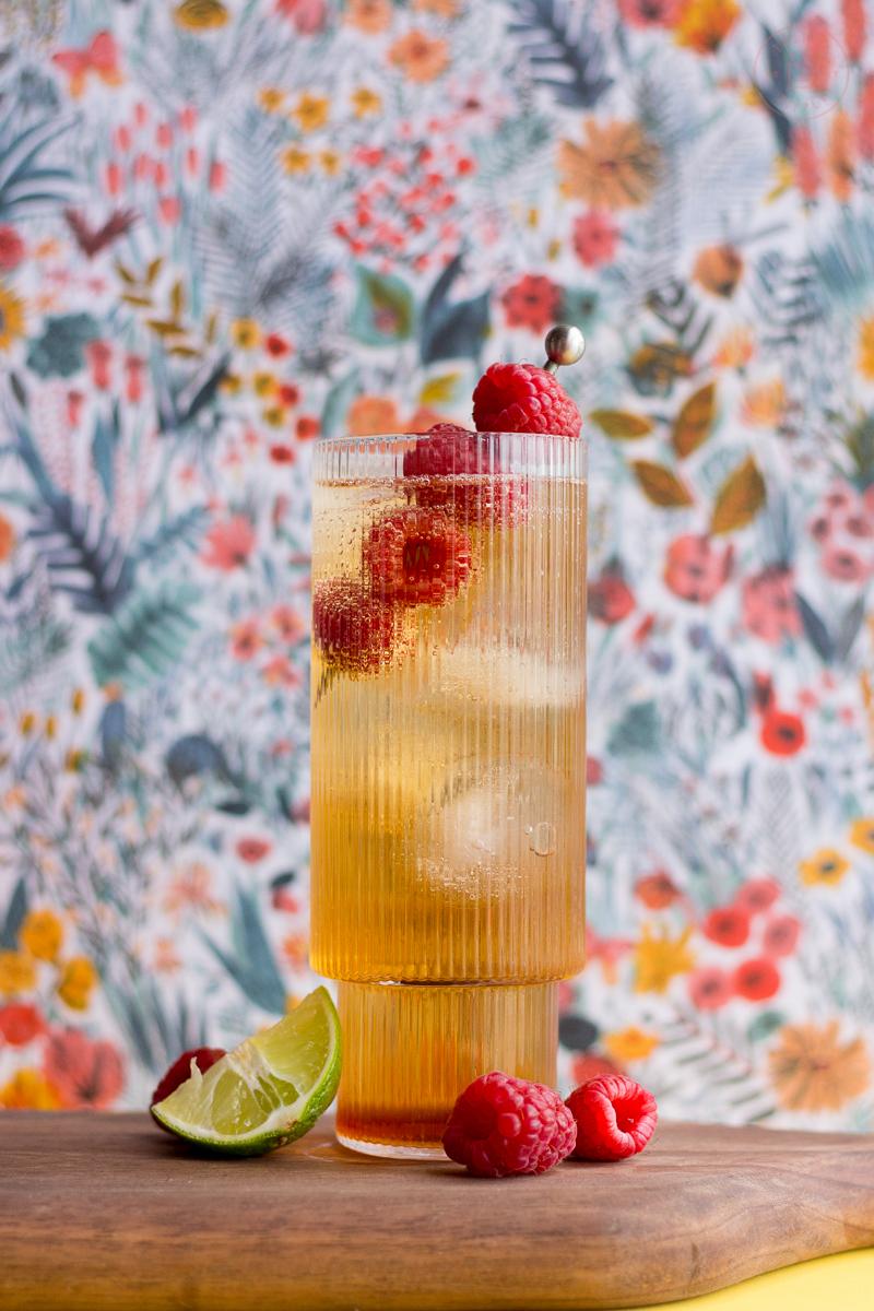 Raspberry Whisky Bramble   Taste and Tipple