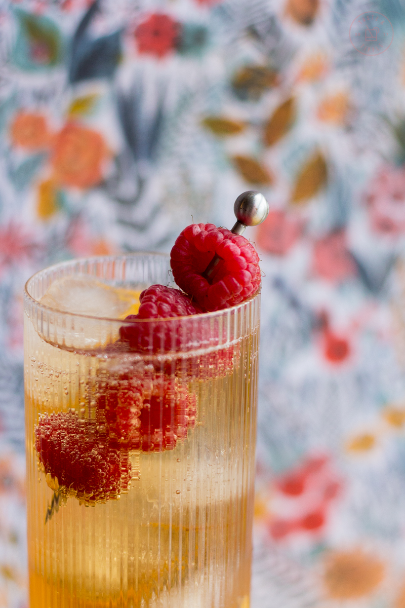 Raspberry Whisky Bramble | Taste and Tipple