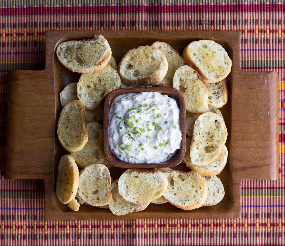 Caramelized Shallot Dip | Taste and Tipple