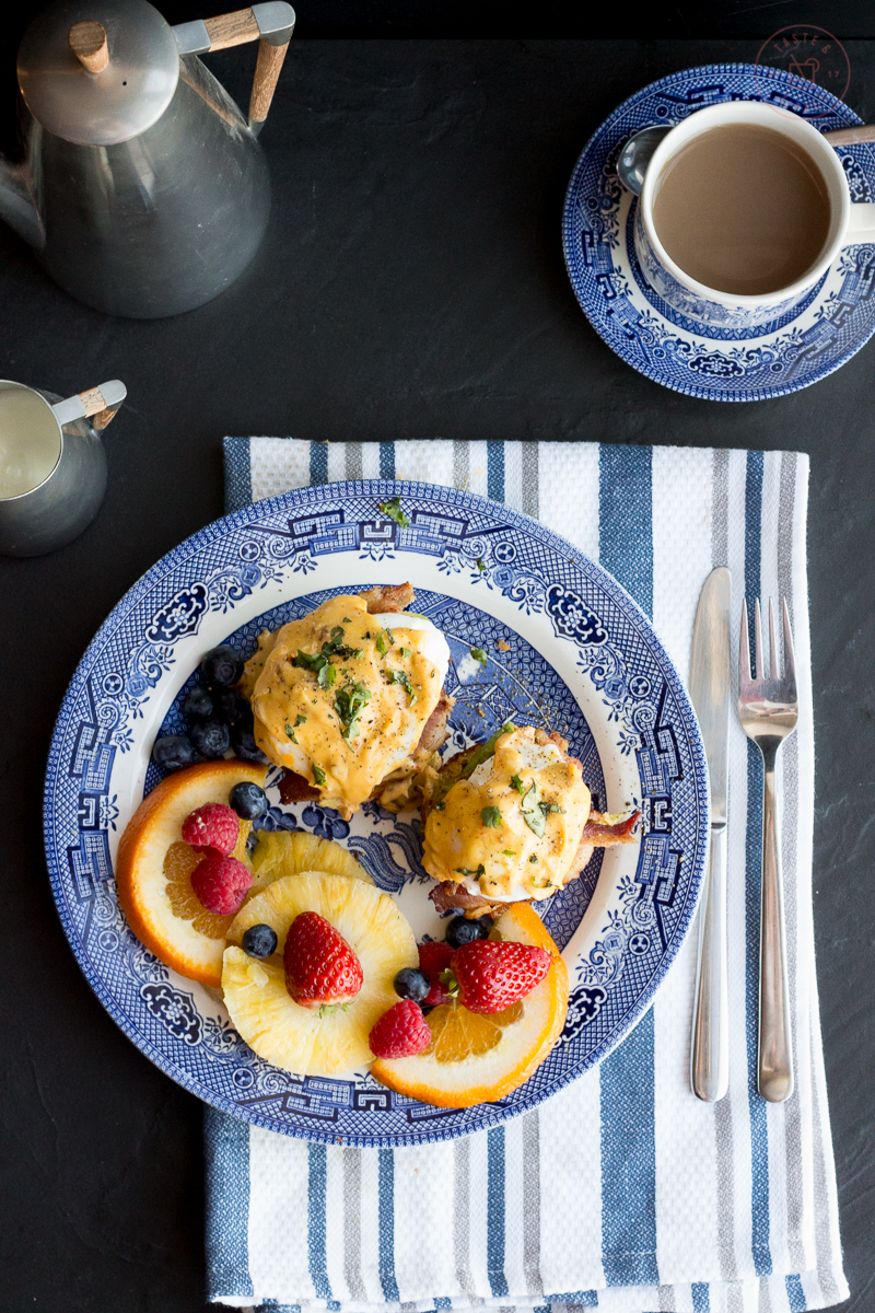 Southwestern Eggs Benedict | Taste and Tipple
