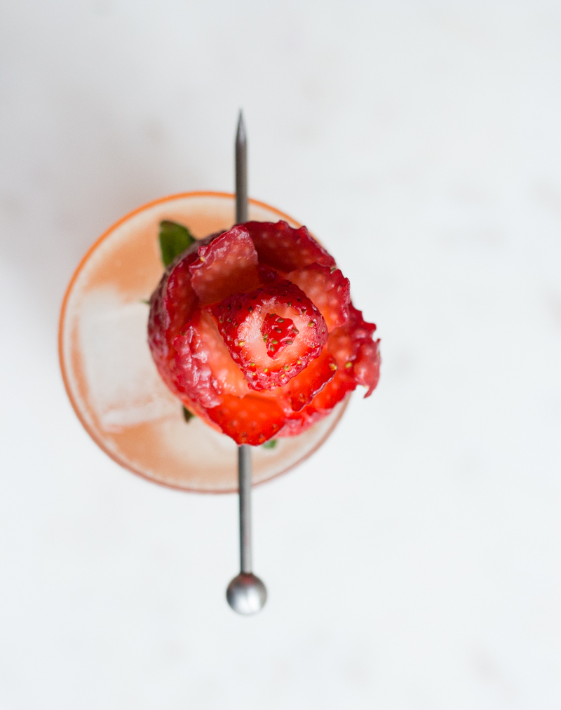 Strawberry Fields Cocktail | Taste and Tipple